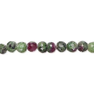 Beads Grade B Ruby In Zoisite