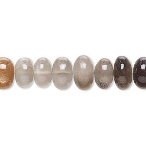 Grey Moonstone Tyre Shape Beads Grey Moonstone Beads 17/'/' Natural Grey Moonstone Smooth Beads Sold By Strand MC-1BGI59 5-6 mm