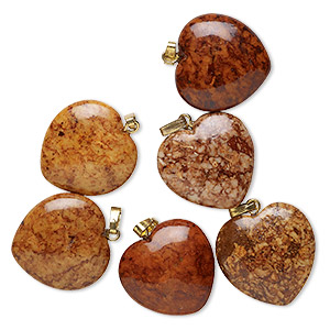 Pendants Riverstone Browns / Tans