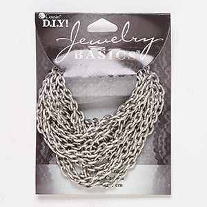 Unfinished Chain Aluminum Silver Colored