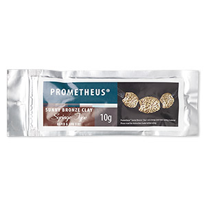 prometheus sunny bronze clay, rapid and low fire, includes 3 tips. sold per 10-gram syringe.