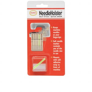 tool, needleholster™, plastic, 25x13mm self-adhesive clip. sold individually.
