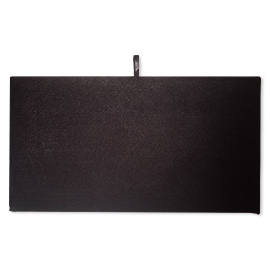 tray insert, velvet, black, 14 x 7-3/4 inch pad. sold individually.