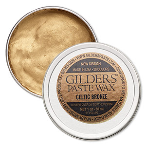 wax paste, gilders paste, celtic bronze. sold per 1-ounce canister.