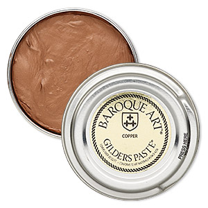 wax paste, gilders paste, copper. sold per 1-ounce canister.