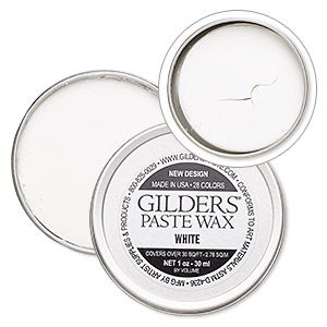 wax paste, gilders paste, white. sold per 1-ounce canister.