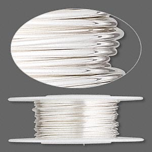 Wire sterling silver half hard round 21 gauge sold per pkg of 5 25 foot pkg greentooth Gallery