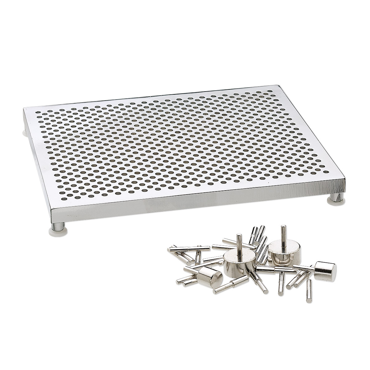 Thing-A-Ma-Jig, aluminum, 5-1/2 x 4-1/2 inch deluxe model wire jig ...